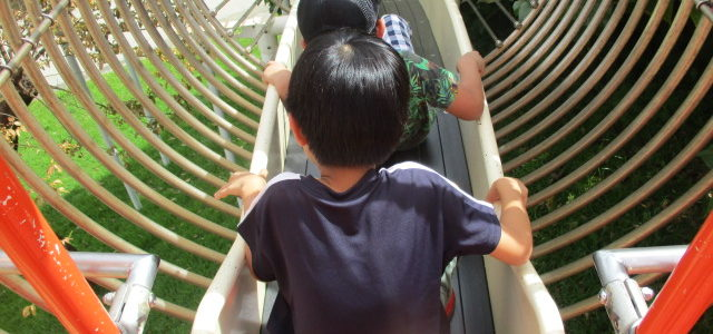 奥武山公園で遊ぼうよー♪