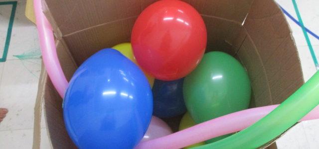 風船を使って実験!🎈